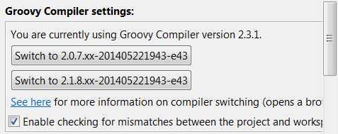 Groovy 2.3 installed