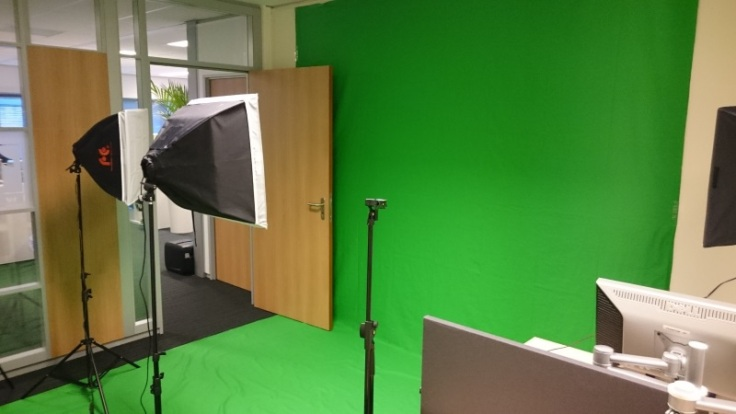 The Green Screen at First8