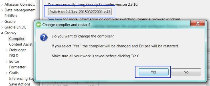 Switch to Groovy 2.4.3 compiler