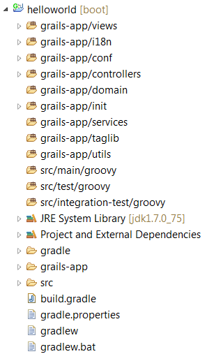 eclipse-imported-grails-gradle-project