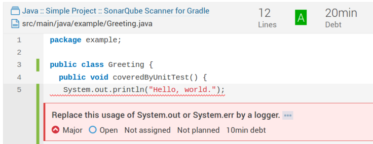 sonarqube-simple-java-project-issue-detail