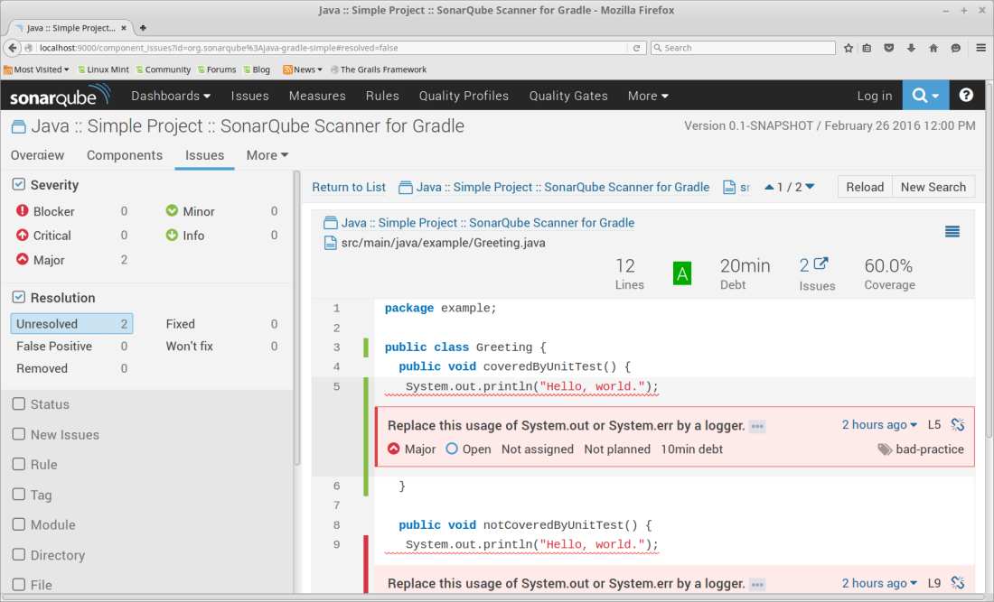 3 Steps For Analyzing a Gradle Project With SonarQube Using