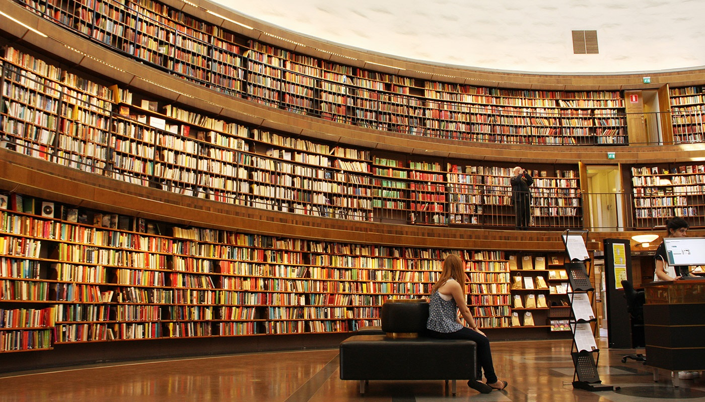 That's one big library!