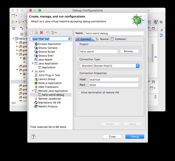 Eclipse-Grails-3-create-debug-configuration